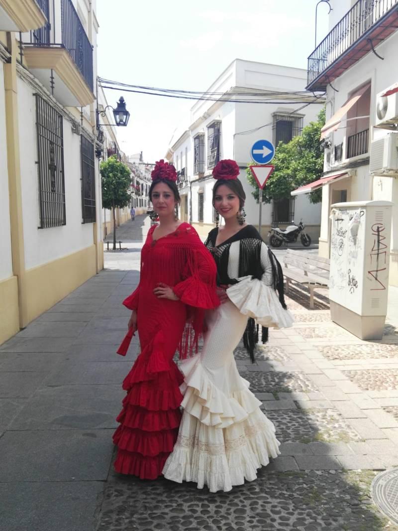 Peluqueria y Maquillaje Flamenca para Peinados 2018 Cordoba Esther y Rocio