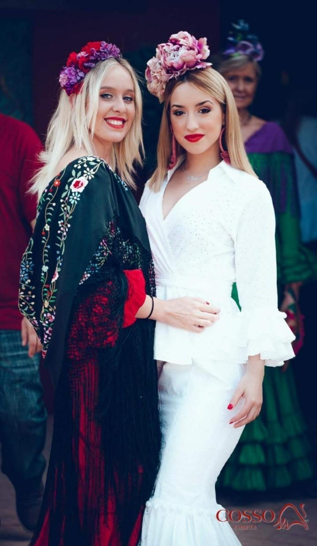 Peluqueria y Maquillaje Flamenca para Peinados 2018 El Muriano Laura y Claudia