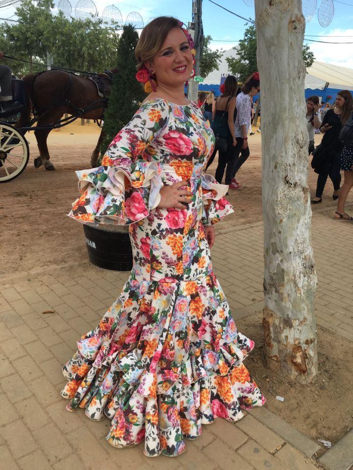 Peluqueria y Maquillaje Flamenca para Peinados 2018 Gema Montilla El Brillante