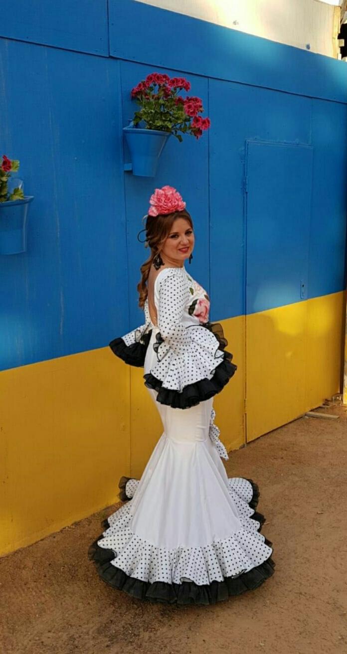 Peluqueria y Maquillaje Flamenca para Peinados 2018 Gema Montilla Parque Cruz Conde