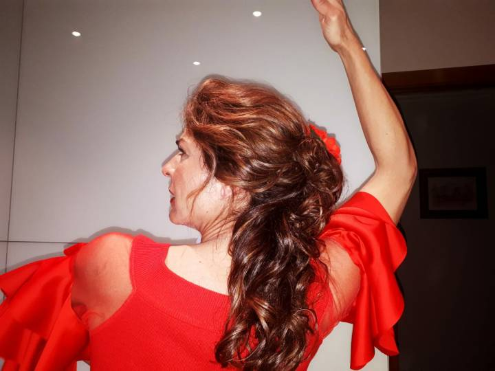 Peluqueria y Maquillaje Flamenca para Peinados 2018 Josefa Calderon La Magdalena