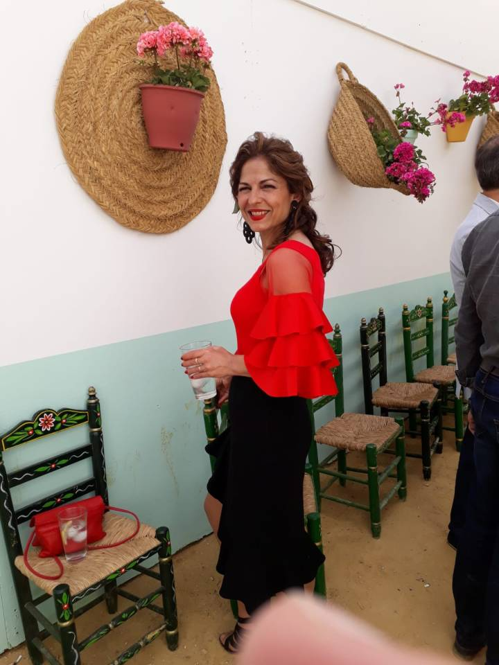 Peluqueria y Maquillaje Flamenca para Peinados 2018 Josefa Calderon Levante