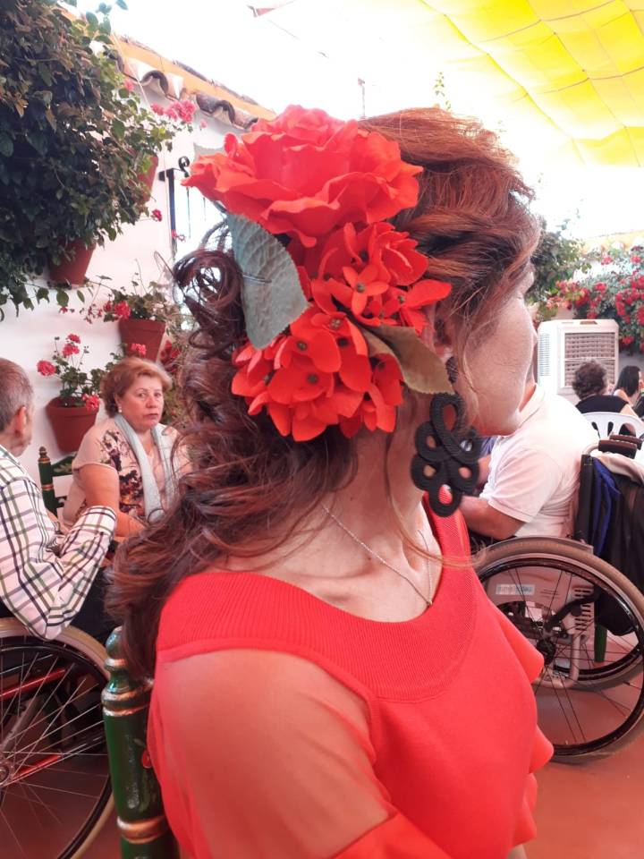 Peluqueria y Maquillaje Flamenca para Peinados 2018 Josefa Calderon Miralbaida