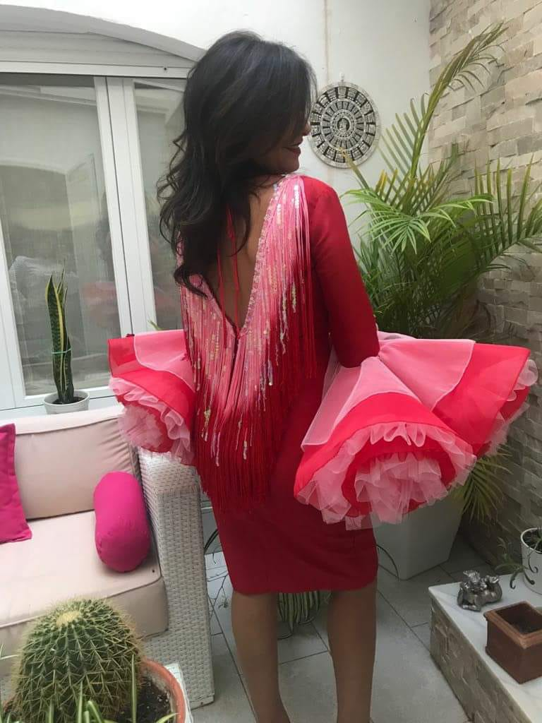 Peluqueria y Maquillaje Flamenca para Peinados 2018 La Golondrina Auxi