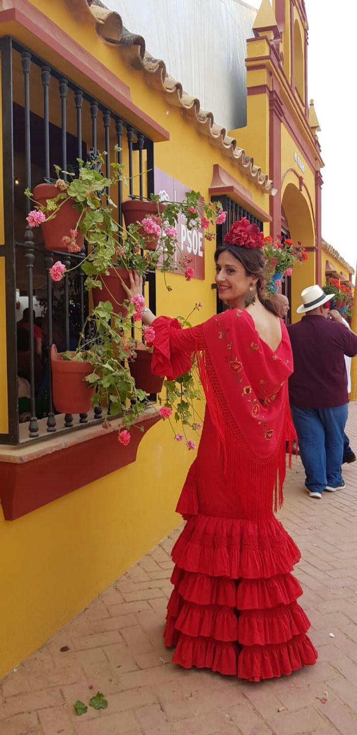 Peluqueria y Maquillaje Flamenca para Peinados 2018 Medina Azahara Rocio
