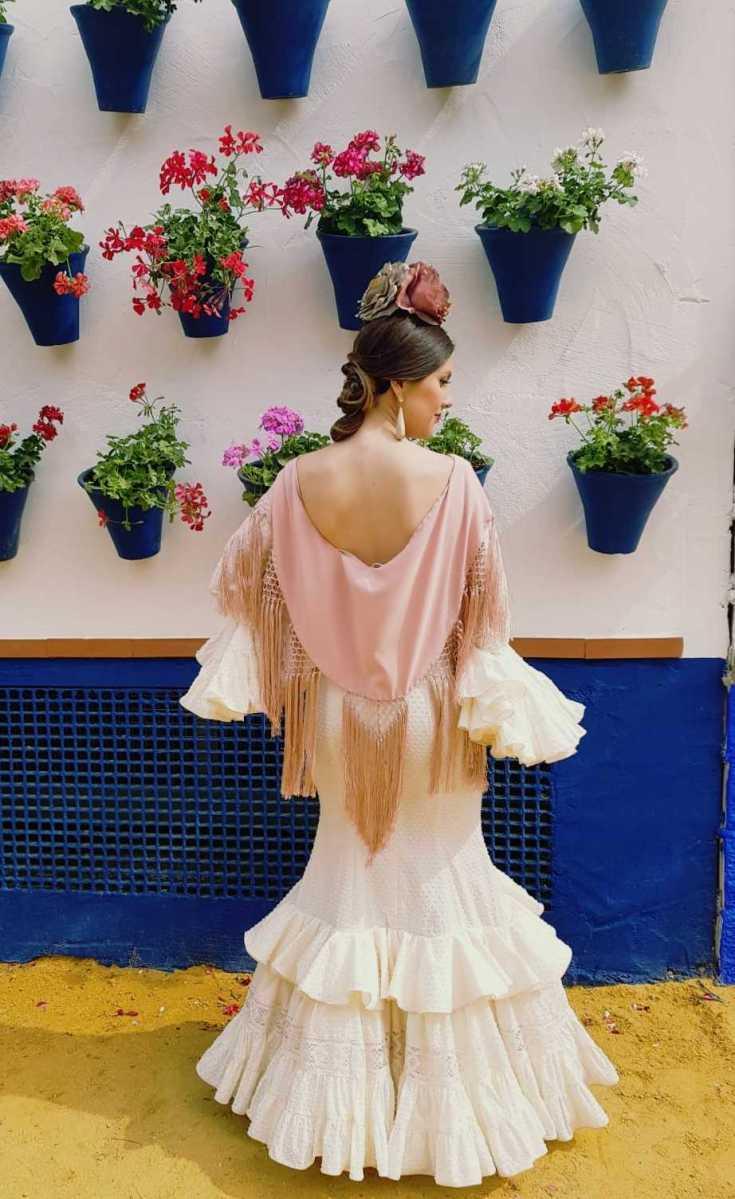 Peluqueria y Maquillaje Flamenca para Peinados 2018 Santa Rosa Esther