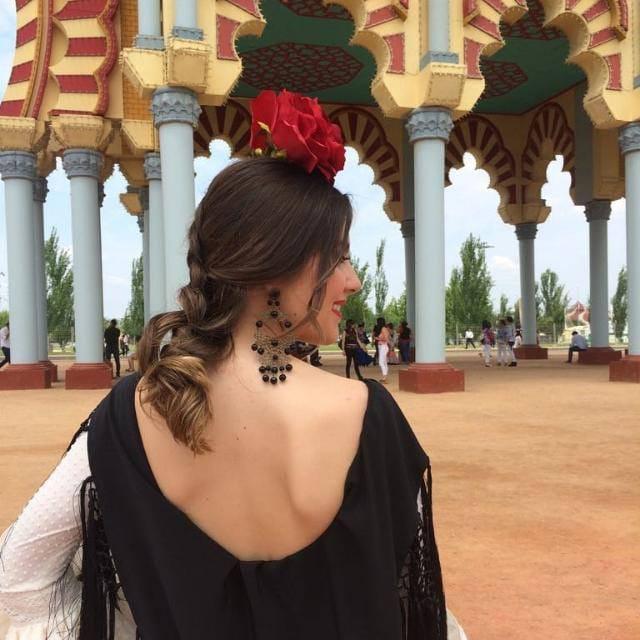 Peluqueria y Maquillaje Flamenca para Peinados 2018 Sector Sur Esther