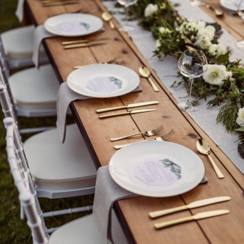Que decoracion de mesa escoger para una Celebracion Fuente Palmera