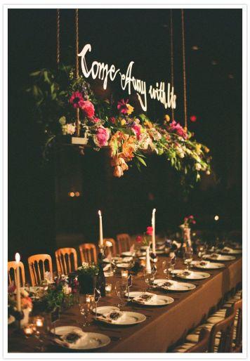 Que decoracion de mesa escoger para una Celebracion Montilla