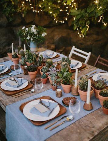 Que decoracion de mesa escoger para una Celebracion Peñarroya Pueblo Nuevo
