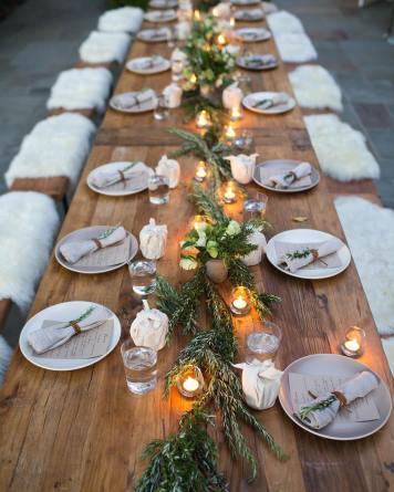 Que decoracion de mesa escoger para una Celebracion Posadas