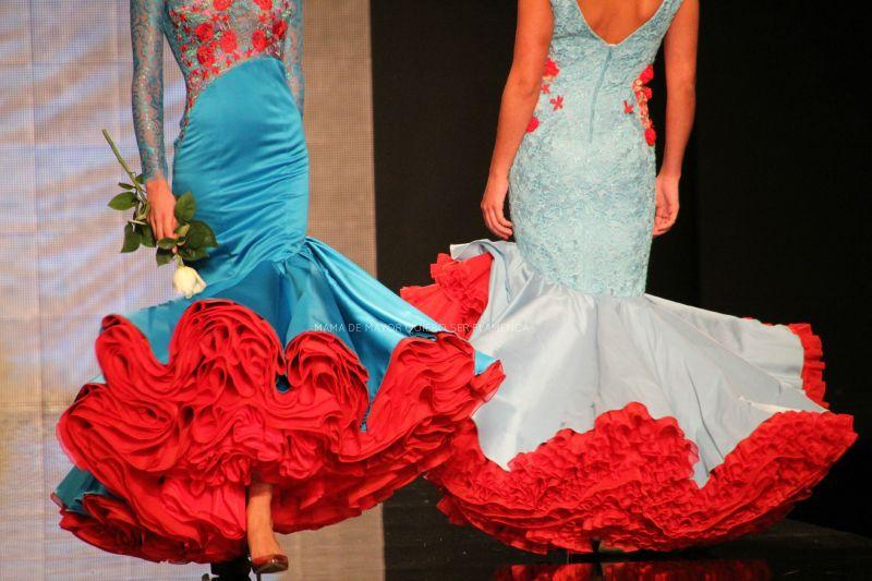 Tocaddos flamencos para trajes de Gitanas en Cordoba