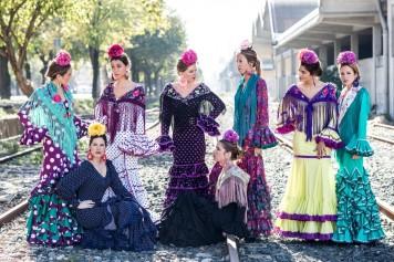 Peinados para Trajes de Gitanas en Cordoba Estilos formas y Colores Santaella Tercera Parte