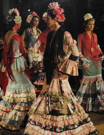 Trajes de Gitanas en Cordoba Estilos formas y Colores Villafranca de Cordoba