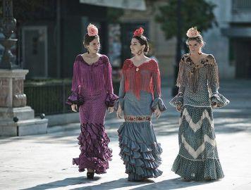 Peinados para Trajes de Gitanas en Cordoba Estilos formas y Colores Villanueva de Cordoba Tercera Parte