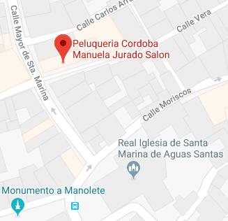 Peluqueria Cordoba Manuela Jurado Salon