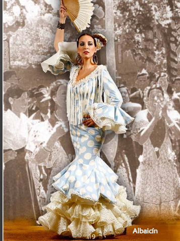 Ideas Trajes de Flamenca y Recogidos La Carrucha Moda Flamenca