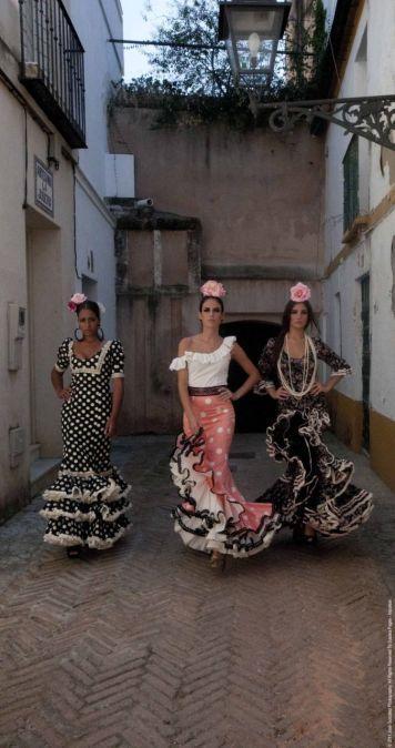 Ideas Trajes de Flamenca y Recogidos Pedroche Gitana