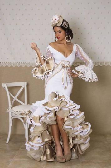 Ideas Trajes de Flamenca y Recogidos Trajes de flamenca para Feria y Rocio - MATY