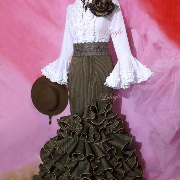 Ideas Trajes de Flamenca y Recogidos flamencos