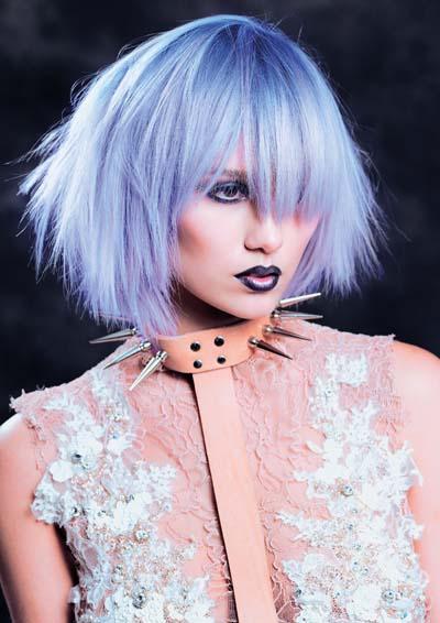 Color de pelo fantasia