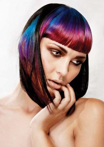 Pelo de Colores con tintes Fantasia en Cordoba Esclusive Hair Professional