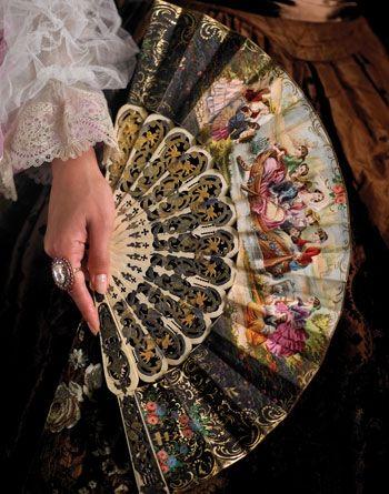Abanicos formas y decoraciones Pozoblanco