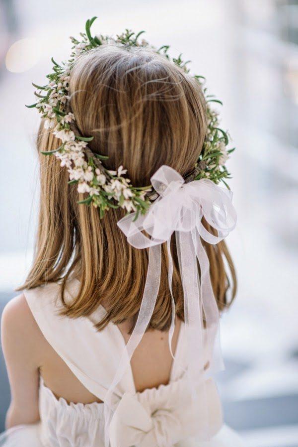 Peinados faciles para primera comunion con corona