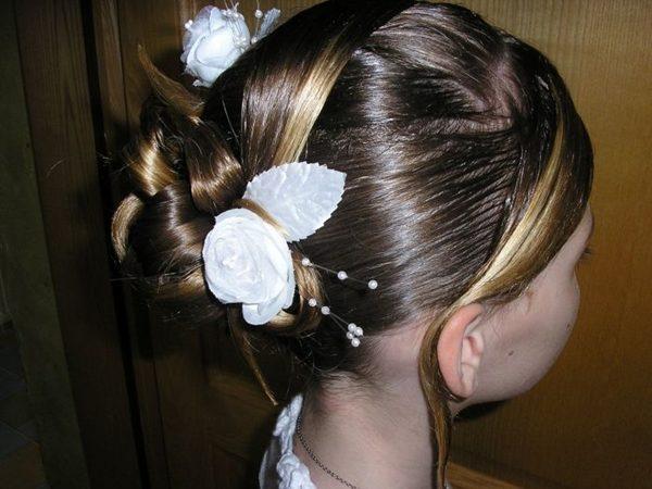 Peinados para ninas 1 comunion