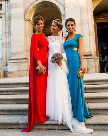 Fotos de Madrinas e Invitadas a una Boda Puerta de Almodovar Cordoba