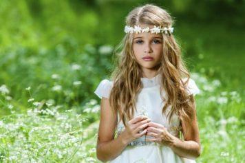 Peinados con encanto para niñas de Comunion Alcolea