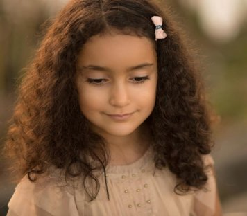 Peinados con encanto para niñas de Comunion Arroyo del Moro