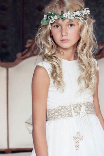 Peinados con encanto para niñas de Comunion Avda. de Barcelona