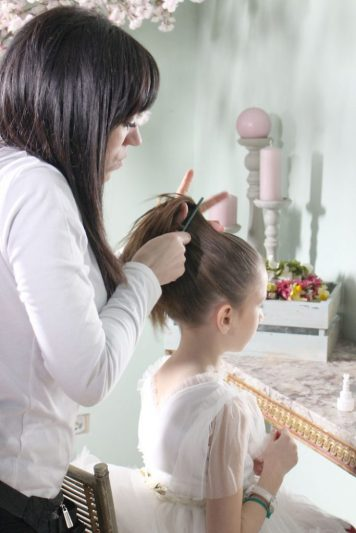 Peinados con encanto para niñas de Comunion Campo de la Verdad