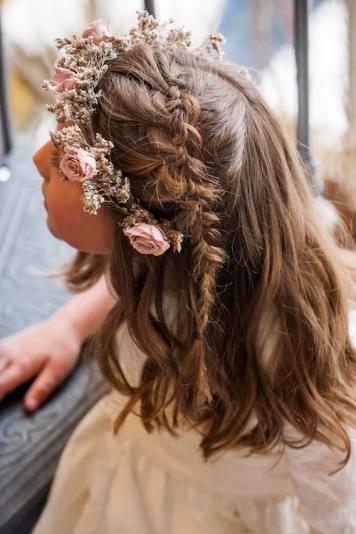 Peinados con encanto para niñas de Comunion Centro