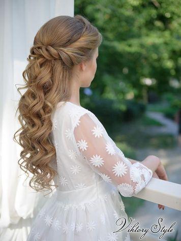 Peinados con encanto para niñas de Comunion Cordoba