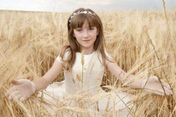Peinados con encanto para niñas de Comunion El Muriano
