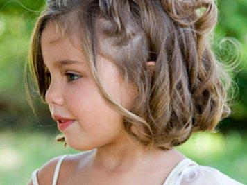 Peinados con encanto para niñas de Comunion El Tablero
