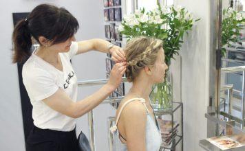 Peinados con encanto para niñas de Comunion Gran Via Parque