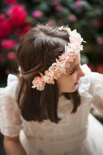 Peinados con encanto para niñas de Comunion Magdalena