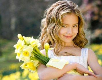 Peinados con encanto para niñas de Comunion Parque Figueroa