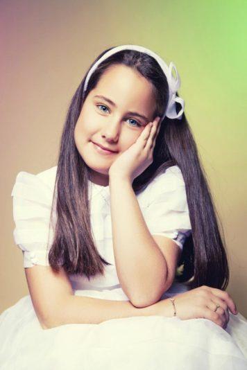 Peinados con encanto para niñas de Comunion Villarrubia