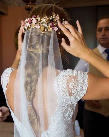 Peinados para Novias de Actualidad Ecija