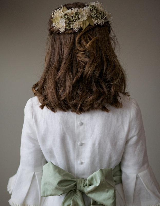 Peinados de media melena para comunion