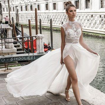 Vestidos de Novias y Peinados con tendencia Romantica Cordoba