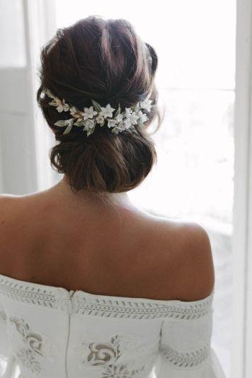 Vestidos de Novias y Peinados con tendencia Romanatica El Carpio