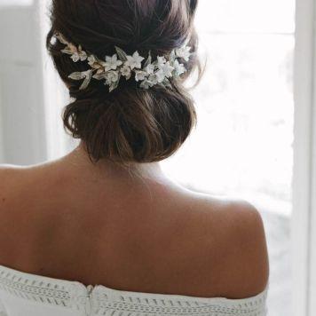 Vestidos de Novias y Peinados con tendencia Romantica El Carpio