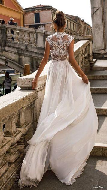Vestidos de Novias y Peinados con tendencia Romanatica El La Carlota