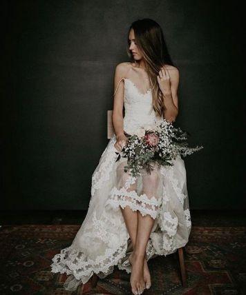 Vestidos de Novias y Peinados con tendencia Romanatica Montoro