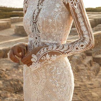 Vestidos de Novias y Peinados con tendencia Romantica Pozablanco